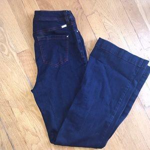 Inc curvy fit jeans flare leg